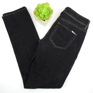 WHBM Black Denim Slim Ankle Jeans